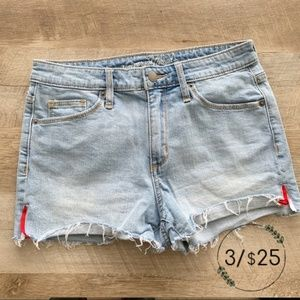 Universal Thread High Rise Shortie Jean Shorts